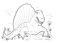 Dinosaure Coloriage