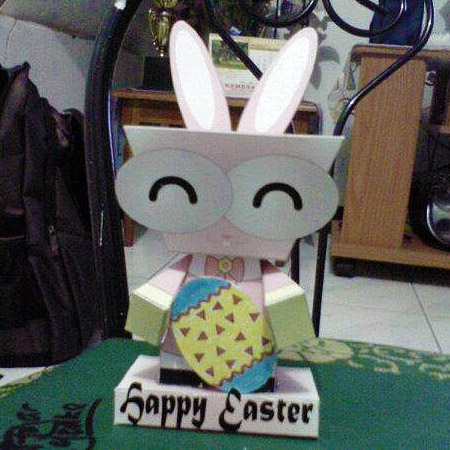 CeBe Easter Bunny Paper Toy
