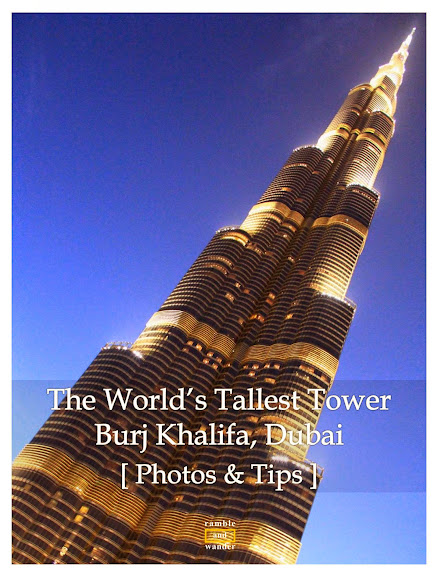 Photos from At the Top, Burj Khalifa's observation deck | www.rambleandwander.com