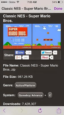8-bit Super Mario iOS