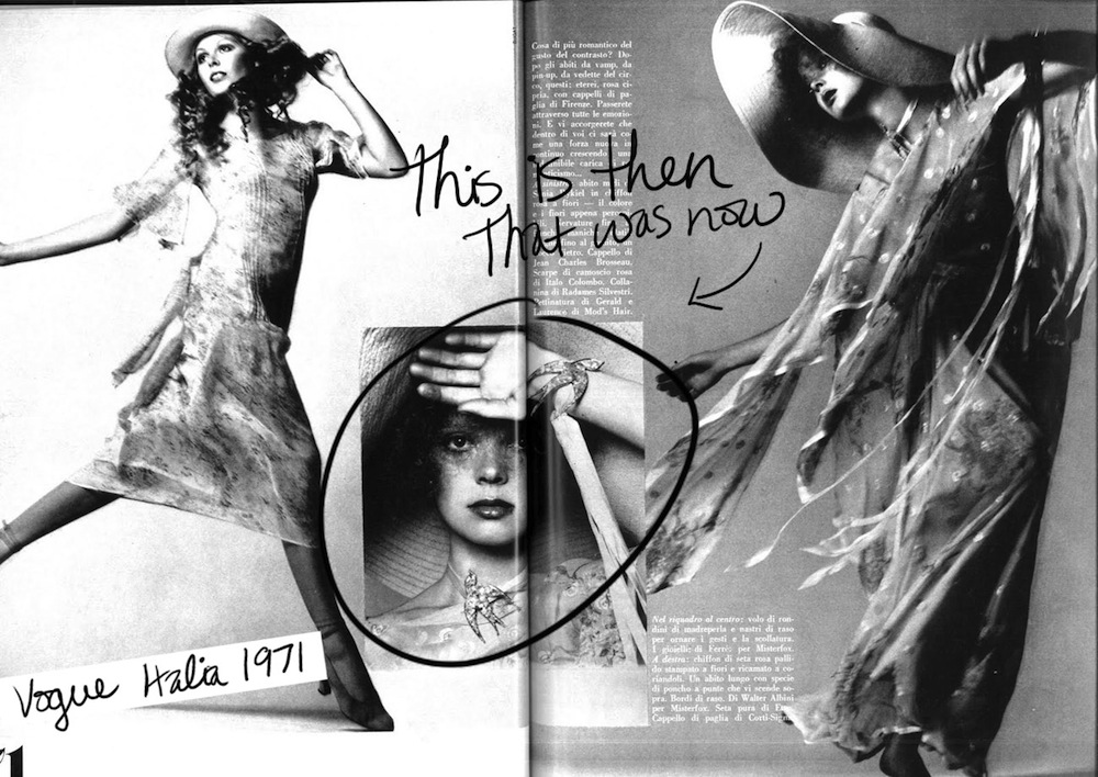This is Then That was Now [Miu Miu vs Vogue 1971]