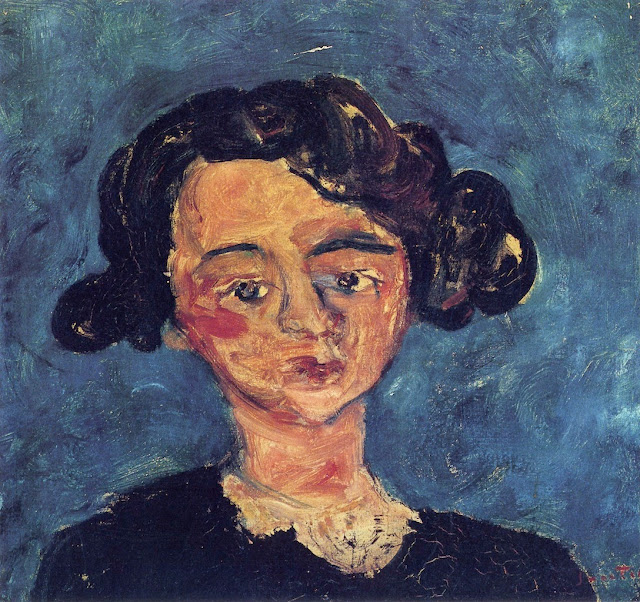 Chaim Soutine - Portrait of a Young Girl