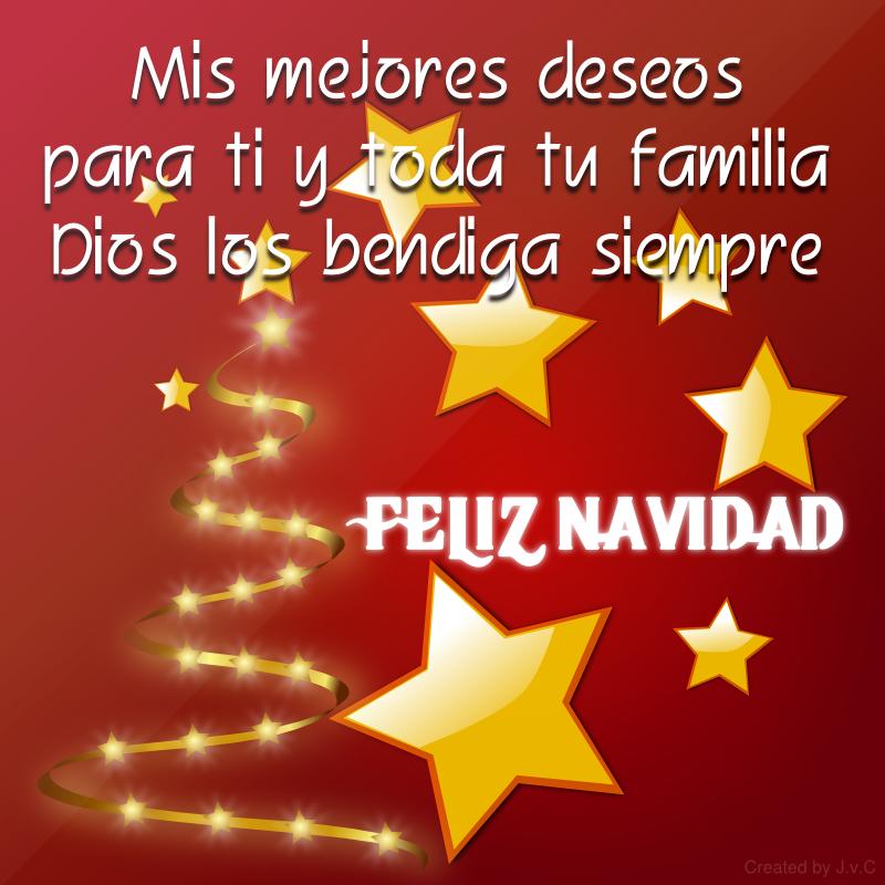 Feliz navidad mis mejores deseos para ti imgenes y - Deseos de feliz navidad ...