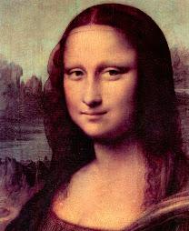 LEONARDO da Vinci Mona Lisa (detail) 1503-05