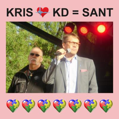 Christer och KDs partiledare