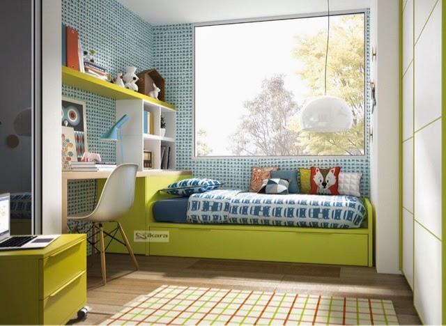 Camas dobles ni os - Dormitorios infantiles dobles ...