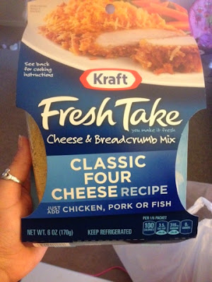 The semi homemade life baked four cheese fish for Shake n bake fish
