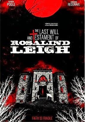 Filme Poster O Testamento e Último Desejo de Rosalind Leigh DVDRip XviD & RMVB Legendado