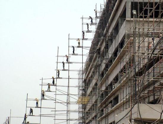 Seguridad laboral en construcción