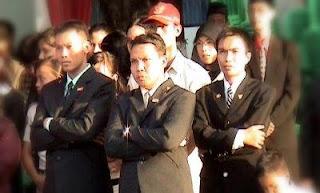 foto pelatih paskibraka