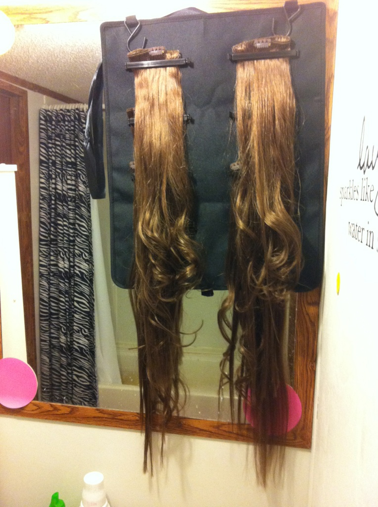 Foxy Locks Extensions Chestnut Brown Review Human Hair Extensions