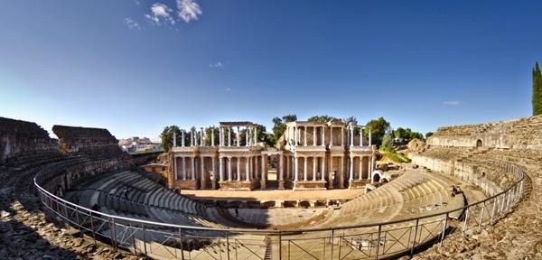La ciudad romana de Mérida