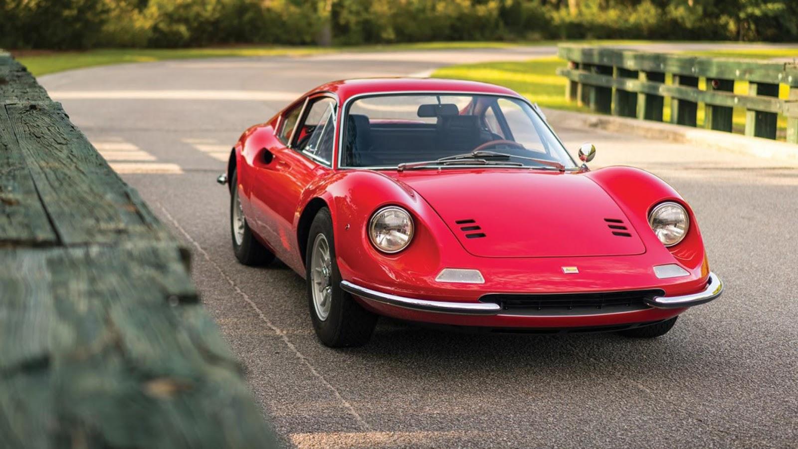 1968 Ferrari Dino 206 GT bởi Scaglietti