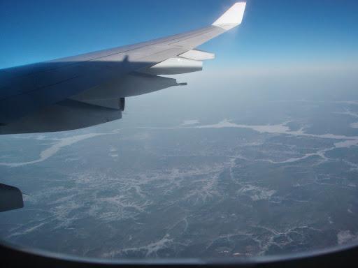 ドイツへのフライト