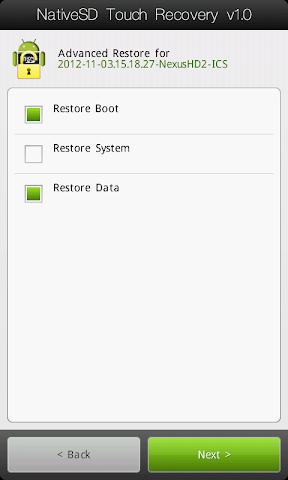 [TUTO] Utiliser le NativeSd Touch recovery 1.0 (en images) NativeSD_Touch_Recovery_2-3_Advanced_Restore