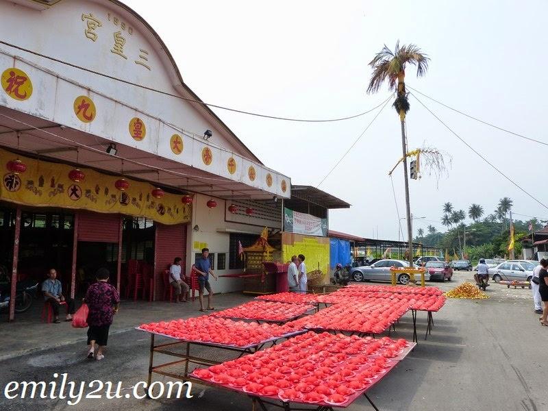 red tortoise buns Nine Emperor Gods