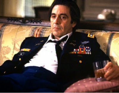 Screen shot showing Al Pacino in Scent of a Woman