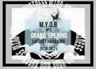 アクセサリーブランド「M.Y.O.B NYC」初の実店舗が8月21日にラフォーレ原宿4Fにオープン