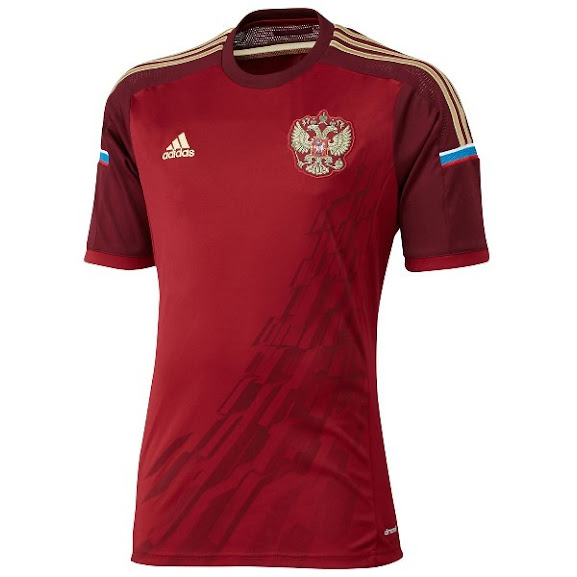 Jual Jersey Rusia Home Piala Dunia 2014