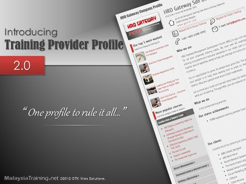 Introducing Training Provider Profile 2.0