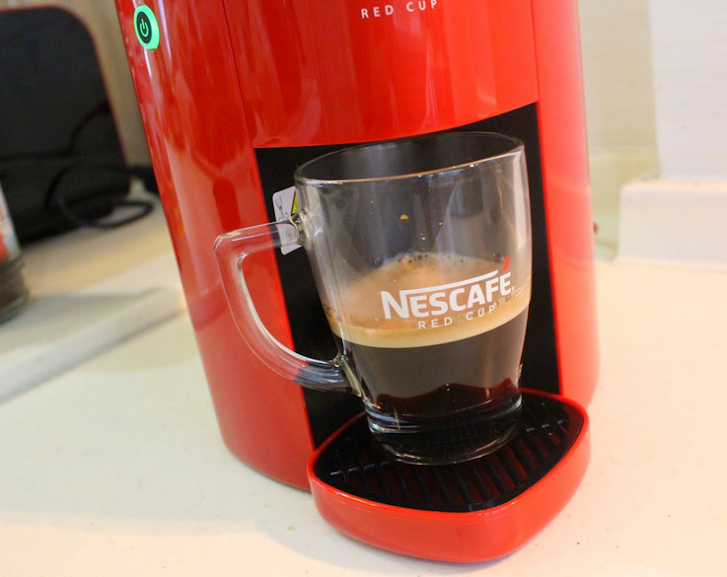 Nescafe K Cup Coffee Maker : NEW!! Red Cup Nescafe Coffee Maker C (end 4/19/2015 3:15 PM)