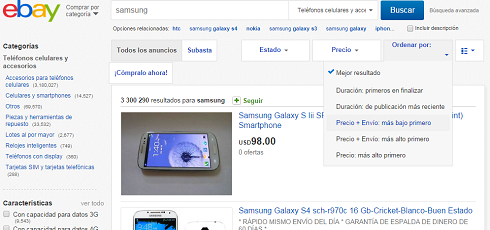 Cómo encontrar las mejores ofertas en Ebay