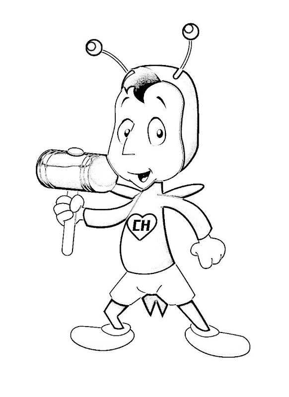 Chapulin colorado coloring pages the red grasshopper printables pages