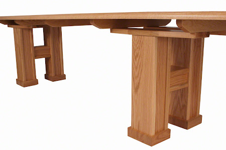 "144"" x 36"" Hagen Conference Table in Natural Oak"