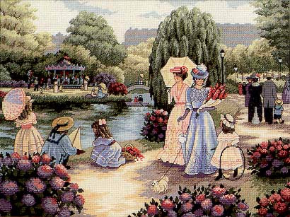 Stroll in the Park pattern