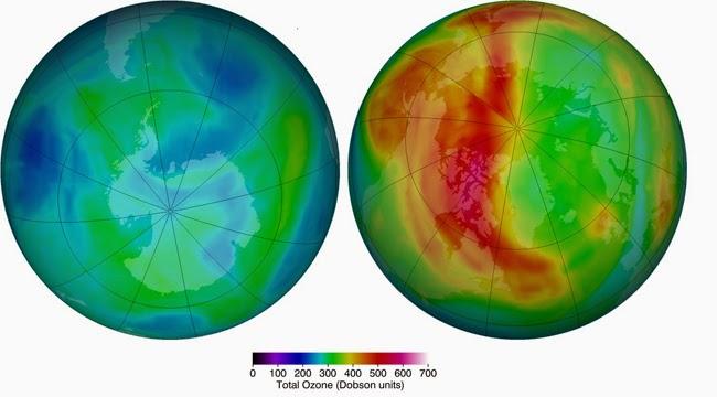 Descubren un agujero atmosférico sobre el Pacífico que podría acentuar el de las zonas polares