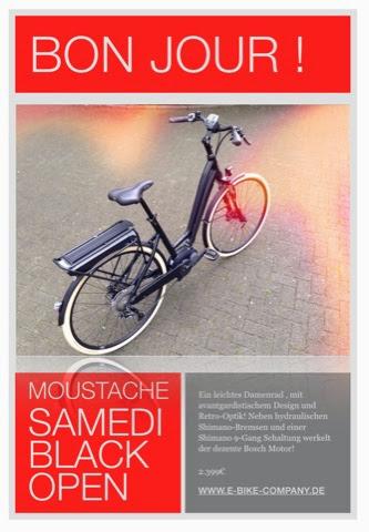 samedi black open damen pedelec 2015 eblog by e bike company mainz. Black Bedroom Furniture Sets. Home Design Ideas