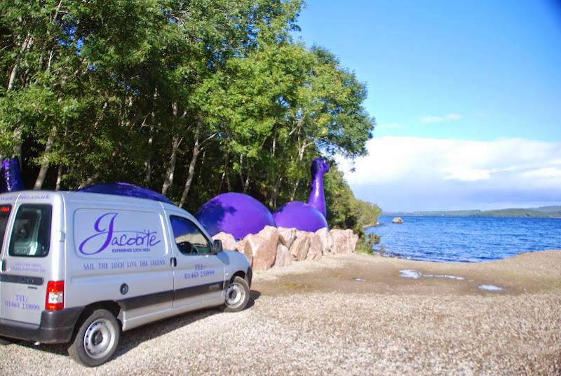 Jacobite cruises, Loch Ness