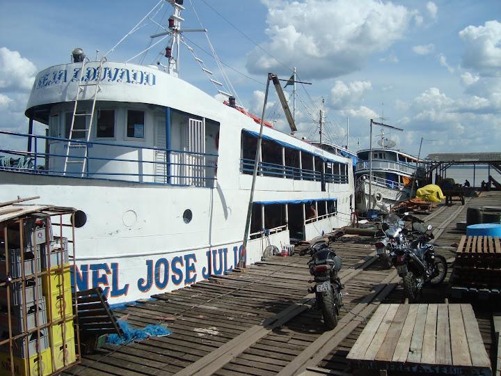 O Coronel José Júlio seria nossa casa por 2 dias em terra mais 2 dias em água.