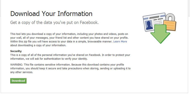 Backup your Facebook Pictures Walls