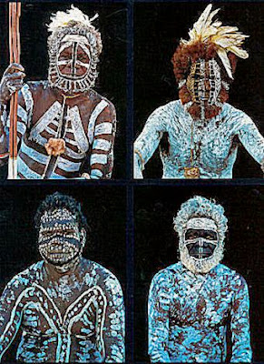 Aboriginal body paint body painting galleries for Aboriginal body decoration