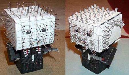 Hellraiser Cenobite Papercraft