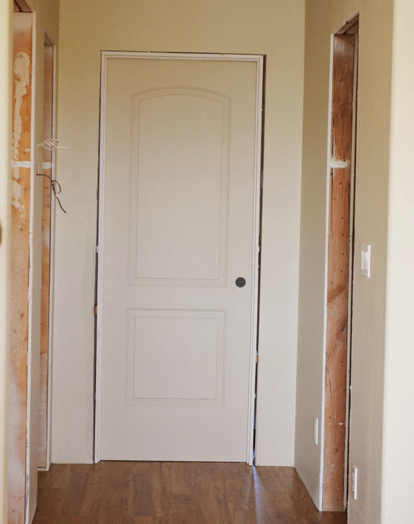 Hanging interior doors ana white woodworking projects for Hanging interior prehung doors