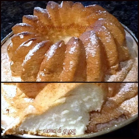 torta soffice senza grassi