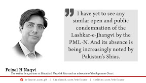 Feisal Naqvi - PML supports Shia Killing