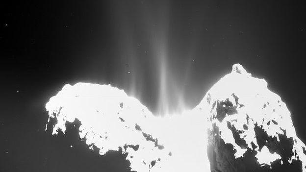 Cometele şi apa de pe Terra şi Marte #1