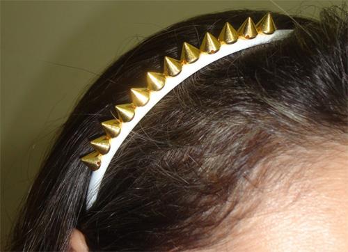 diy - tiara com spikes