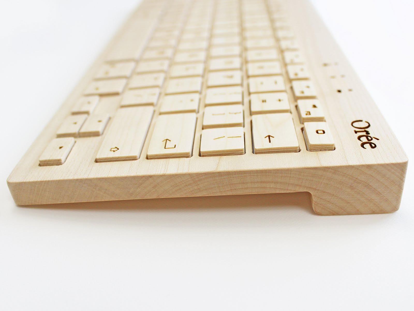 Oreeキーボード - 美しい年輪と文様