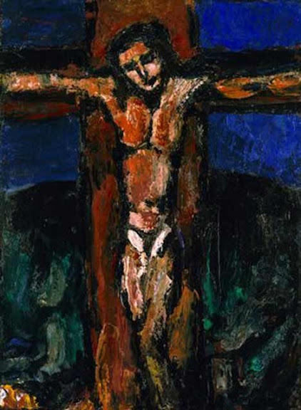 Crucifixion of Christ, by Georges Rouault (1937)
