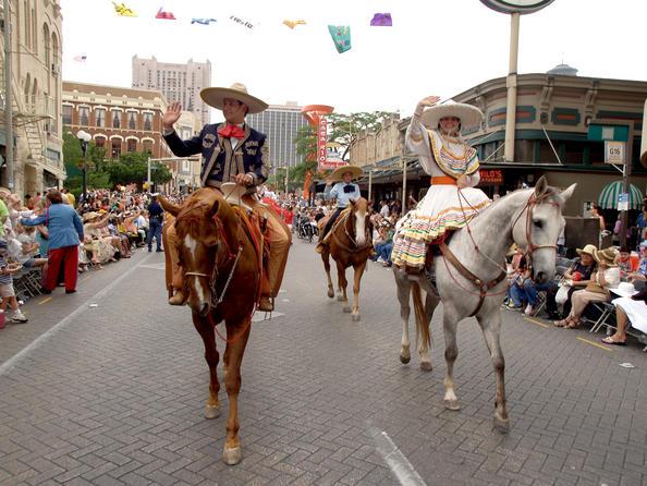 San Antonio Fiesta Charros