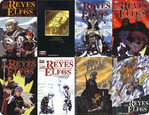 Los reyes Elfos (La saga de Ehren Heldentodsson) Cómic Español