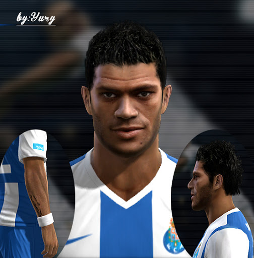 Radamel Falcão Face - PES 2012