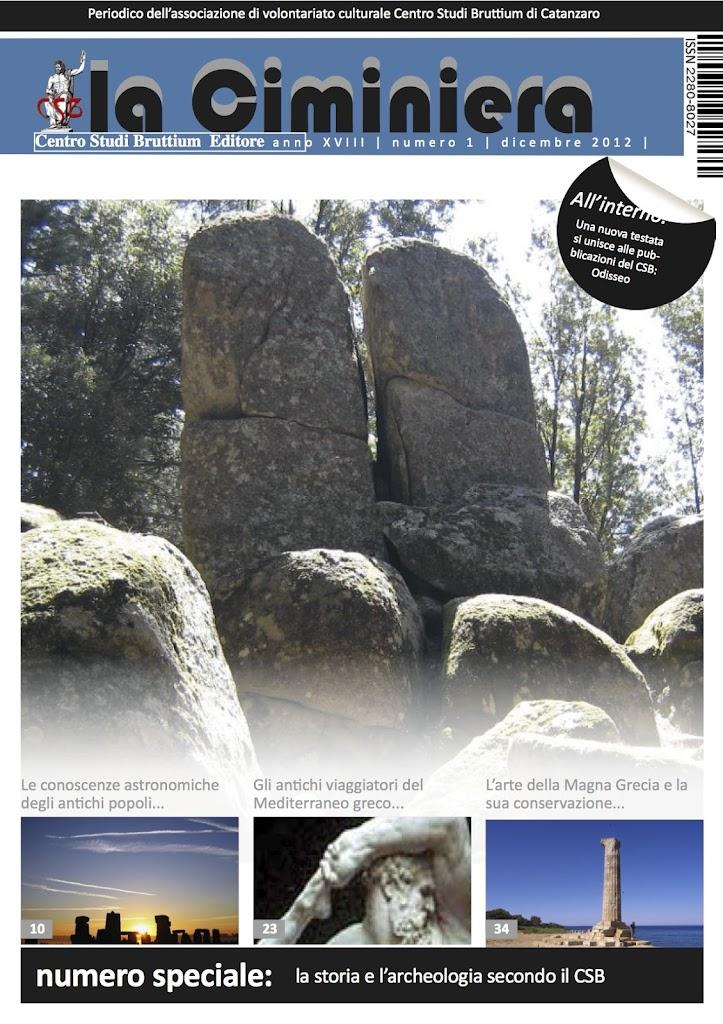 Cover la Ciminiera numero unico 2012