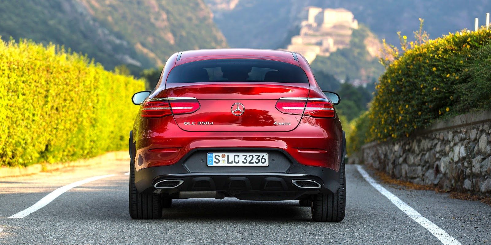 Mercedes Benz GLC Coupe 2017