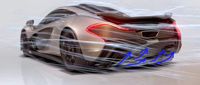 McLaren P1 Rear Diffuser