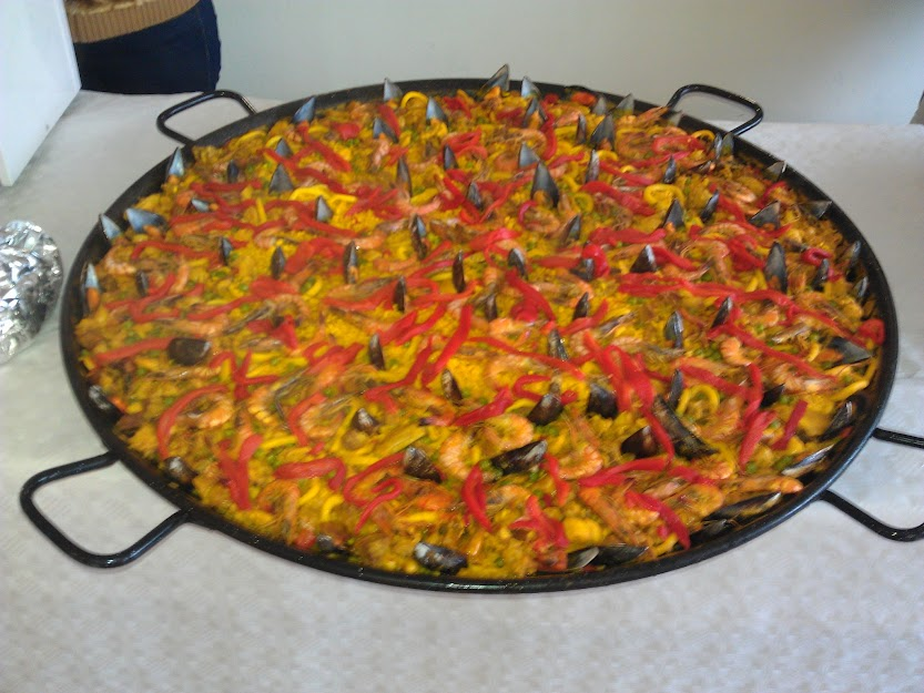 Bild von der Paella